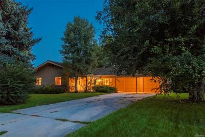Boulder Single Family Home Active: 5089 Idylwild Trail