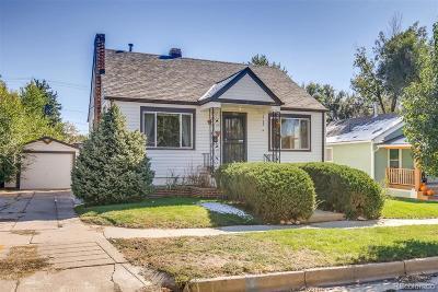 Edgewater Single Family Home Under Contract: 2550 Fenton Street
