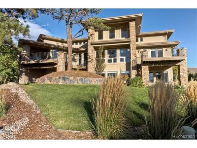 Castle Rock Single Family Home Active: 5106 Knobcone Drive