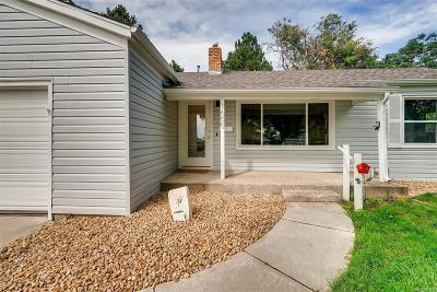 Lakewood Single Family Home Active: 1655 Quay Street