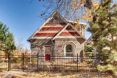 Denver Single Family Home Under Contract: 2840 Zenobia Street
