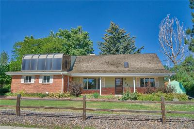 Arvada Single Family Home Active: 7061 Carr Street
