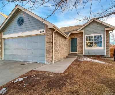 Northglenn Single Family Home Under Contract: 526 West 116th Place