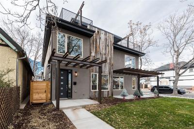 Denver Condo/Townhouse Active: 3855 Jason Street