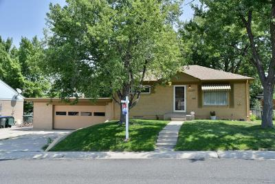 Northglenn Single Family Home Under Contract: 10462 Marion Way