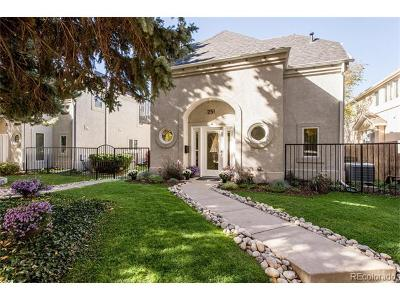 Denver Condo/Townhouse Active: 251 South Garfield Street #F