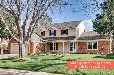 Greenwood Village Single Family Home Active: 9900 East Grand Avenue