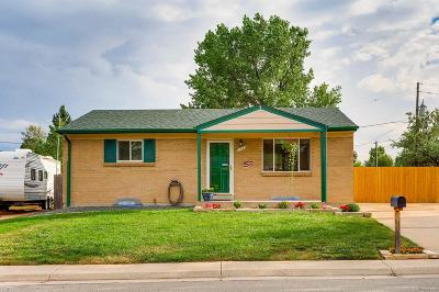 Northglenn Single Family Home Under Contract: 11895 East 119th Place