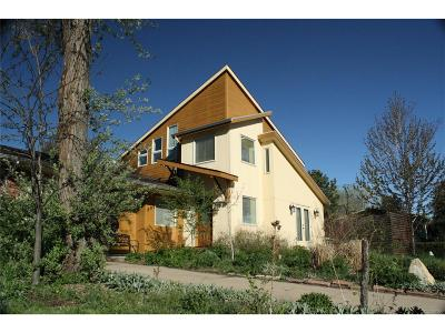 Boulder Single Family Home Active: 895 Morgan Drive
