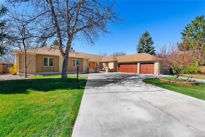 Littleton Single Family Home Under Contract: 4568 West Lake Circle S