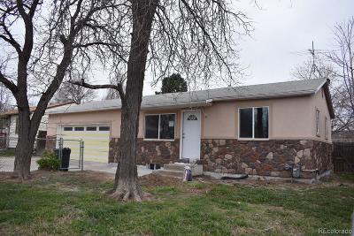 Commerce City Single Family Home Under Contract: 7881 Niagara Street
