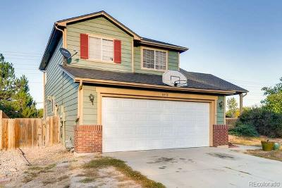 Parker Single Family Home Under Contract: 8530 Golden Eye Drive