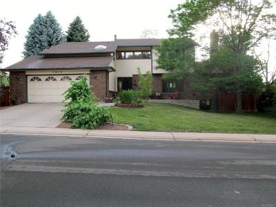 Littleton Single Family Home Active: 7913 West Friend Drive