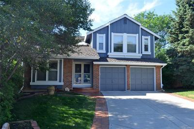 Littleton Single Family Home Under Contract: 7793 Emerald Peak