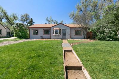 Single Family Home Under Contract: 5250 Highline Place