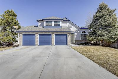 Parker Single Family Home Under Contract: 12598 South Elk Creek Court