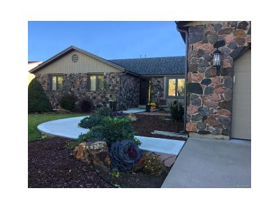 Wheat Ridge Single Family Home Under Contract: 3750 Vivian Court