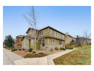 Highlands Ranch Single Family Home Under Contract: 10596 Ashfield Street