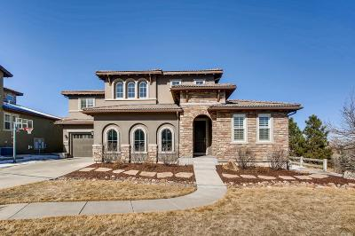 Highlands Ranch CO Single Family Home Under Contract: $1,225,000