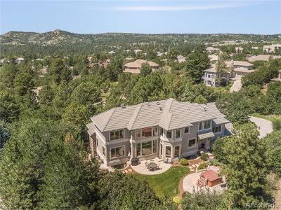 Castle Rock CO Single Family Home Active: $1,725,000