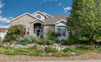 Castle Rock Single Family Home Under Contract: 1277 Whispering Oak Drive