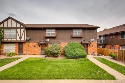 Denver Condo/Townhouse Sold: 3825 South Monaco Parkway #120
