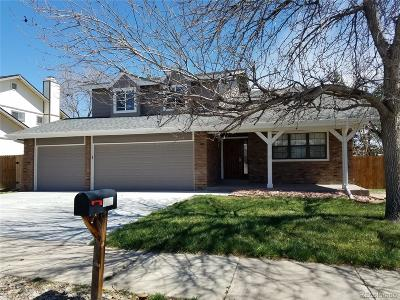 Broomfield Single Family Home Under Contract: 1532 Daphne Street