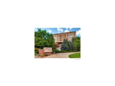 Greenwood Village Condo/Townhouse Active: 5677 South Park Place #110A