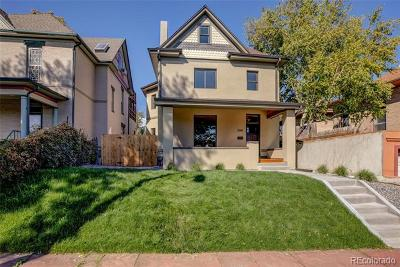 Denver Single Family Home Active: 2145 North Williams Street