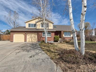 Longmont Single Family Home Under Contract: 1118 Twin Peaks Circle