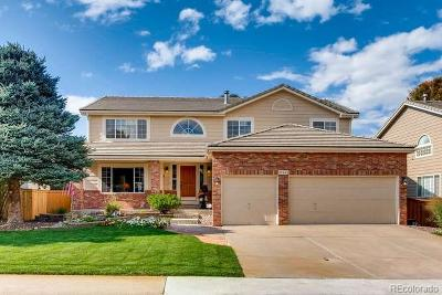 Highlands Ranch Single Family Home Active: 10465 Colby Canyon Drive