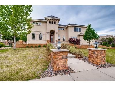 Centennial Single Family Home Active: 16218 East Oakwood Drive