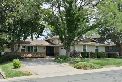 Centennial Single Family Home Under Contract: 7025 East Heritage Place