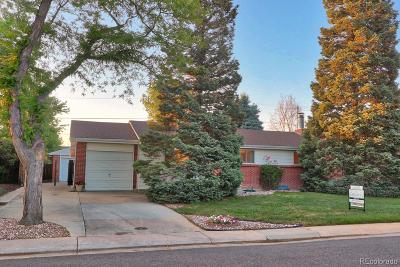 Aurora Single Family Home Under Contract: 13909 East 32nd Place