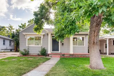 Denver Single Family Home Under Contract: 1835 South Cook Street