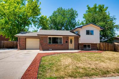 Arvada Single Family Home Under Contract: 6573 Gray Street