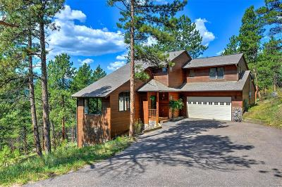 Evergreen Single Family Home Sold: 7395 Heiter Hill Drive