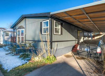 Aurora, Denver Single Family Home Under Contract: 1832 Crystal Street #371