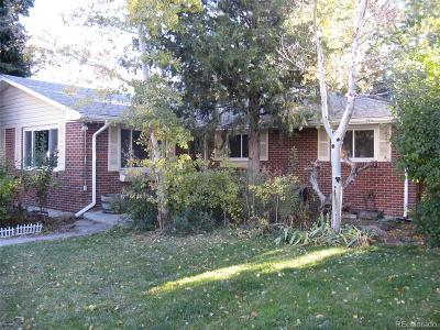 Arvada Single Family Home Active: 6524 Newland Street