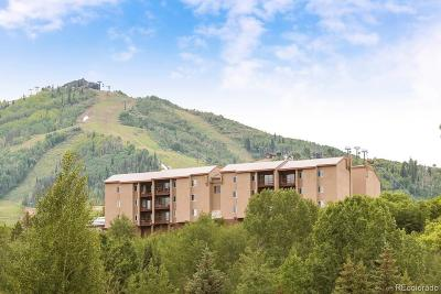 Steamboat Springs Condo/Townhouse Under Contract: 1805 River Queen Lane #203