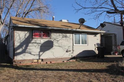 Denver Single Family Home Active: 1680 South Tejon Street