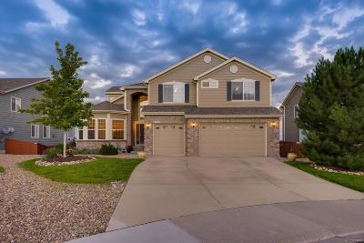Castle Rock Single Family Home Under Contract: 6558 Marble Lane