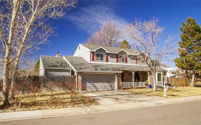 Centennial Single Family Home Active: 5383 South Rifle Court