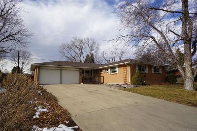 Arvada Single Family Home Active: 6963 Oak Way