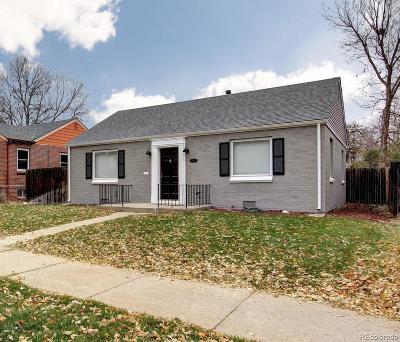 Park Hill, Parkhill Single Family Home Active: 2555 Hudson Street