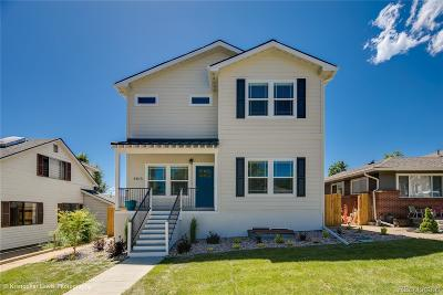Denver Single Family Home Under Contract: 4815 Stuart Street