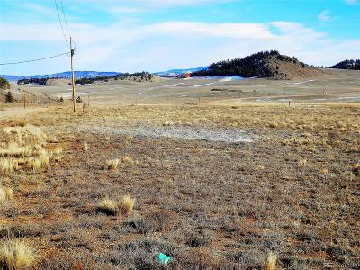 Hartsel CO Residential Lots & Land Under Contract: $12,500