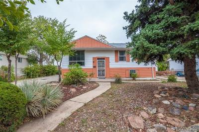 Denver Single Family Home Active: 7966 Sherman Street