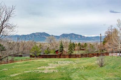 Boulder CO Single Family Home Active: $1,200,000