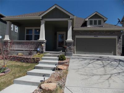 Castle Rock Single Family Home Active: 4405 Prairie Rose Circle